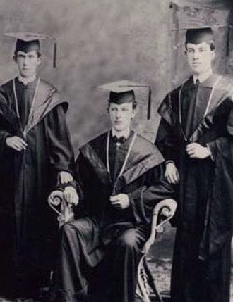 St. Francis College - Photograph of St. Francis College graduates, circa 1899