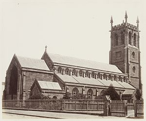 St Philip's Church, Sydney - Image: SLNSW 479570 67 St Philips Church SH 706