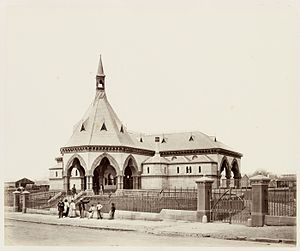 Regent Street railway station - Mortuary station in 1872