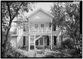 SOUTH FACADE - Borough House, Cook's House, State Route 261 and Garners Ferry Road, Stateburg, Sumter County, SC HABS SC,43-STATBU,1I-2.tif