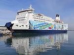 SPL Princess Anastasia First Voyage to Tallinn after Sochi Olympics Tallinn 24 March 2014.JPG