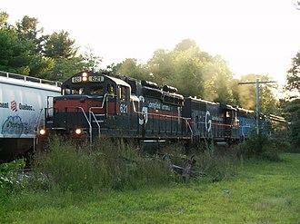 Pan Am Railways - Image: ST621