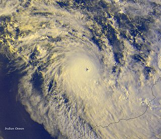 Cyclone Gwenda Category 5 Australian region cyclone in 1999