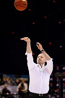 Serbian basketball player and coach