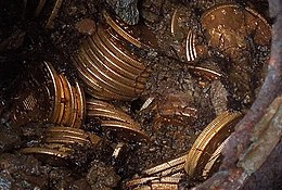 Saddle Ridge Hoard coins and dirt.jpg