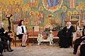 Saeimas priekšsēdētāja oficiālā vizītē apmeklē Gruziju (13581002244).jpg