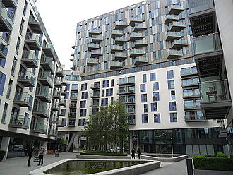 Saffron Square luxury apartment development Saffron Square, Croydon.JPG