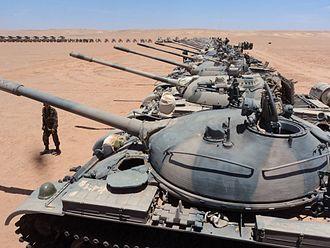 Polisario Front - A Polisario tank division 2012