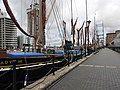 Sailing barges in South Dock 6636.JPG