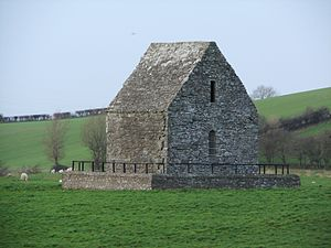 Louth, County Louth - Image: Saint Mochta's 'House', an ancient church