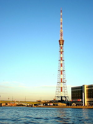 Saint Petersburg TV Tower - Wikipedia, the free encyclopedia