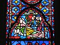 Sainte-Chapelle - Helena of Constantinople recovers when looking at the True Cross.jpg
