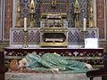 Sainte cecile albi reliques et statue.JPG