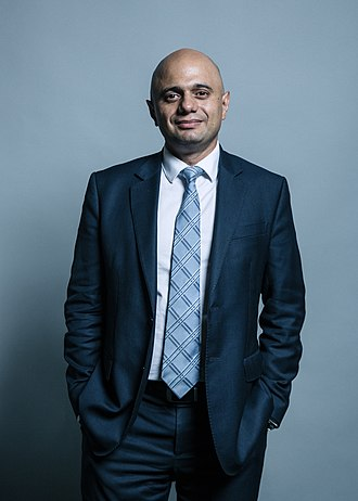 Home Secretary - Image: Sajid Javid full portrait