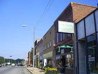 Salem, Missouri - Salem business district