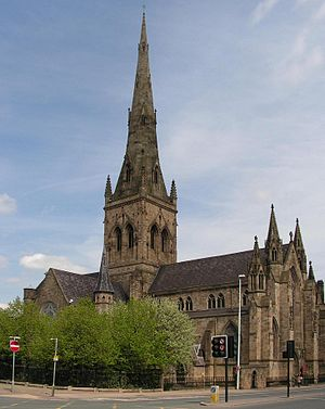 Salford Cathedral - Image: Salford rc Cathedral