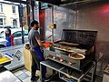 Salim's, Turnpike Lane, London, England preparing and grilling kebabs.jpg