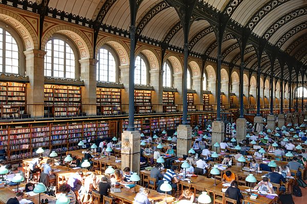 Salle de lecture Bibliotheque Sainte-Genevieve n11