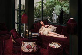 Maison Souquet - Image: Salon 2 maison souquet