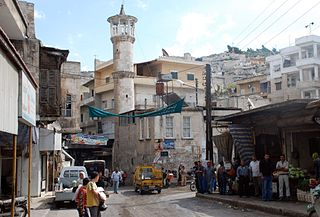 Salqin Town in Idlib, Syria