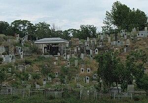Afrasiyab (Samarkand) - Image: Samarqand Afrasiab cemetery 1