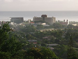 Apia - Early-October 2004 view of the Samoan government buildings in Apia