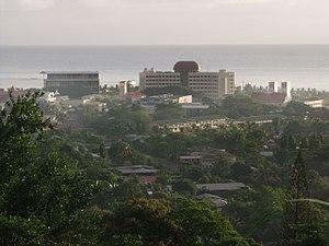 Samoa - Apia Govt buildings