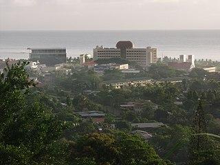 Apia Place in Tuamasaga, Samoa