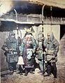 Samurai wearing kusari katabira (chain armor).jpg