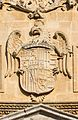 San Jeronimo church relief sculpted CoA of Spain Granada Andalusia Spain.jpg