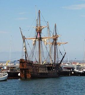 <i>San Salvador</i> (Cabrillos ship) Flagship of 16th-century Spanish/Portuguese explorer