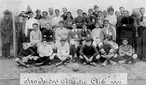 "Club Atlético San Isidro - The first football team of the club, then named ""San Isidro A.C."" (1902)."