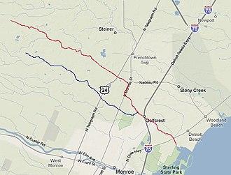 Sandy Creek (Michigan) - Image: Sandy Creek Michigan