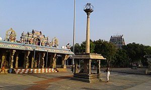 Bhavani, Tamil Nadu - Sangameswarar Temple in Bhavani - the most prominent landmark