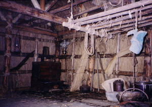 Sankebetsu brown bear incident - A reproduction of the Ōta family's house