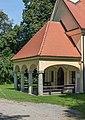 Sankt Georgen am Laengsee Wolschart Wallfahrtskirche Maria Sieben Schmerzen Vorhalle 12092015 7318.jpg