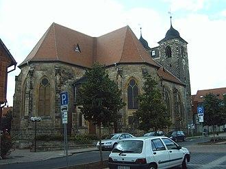 Oschersleben - Image: Sankt Nikolai Oschersleben