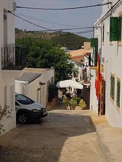The village of Sant Joan de Labritja