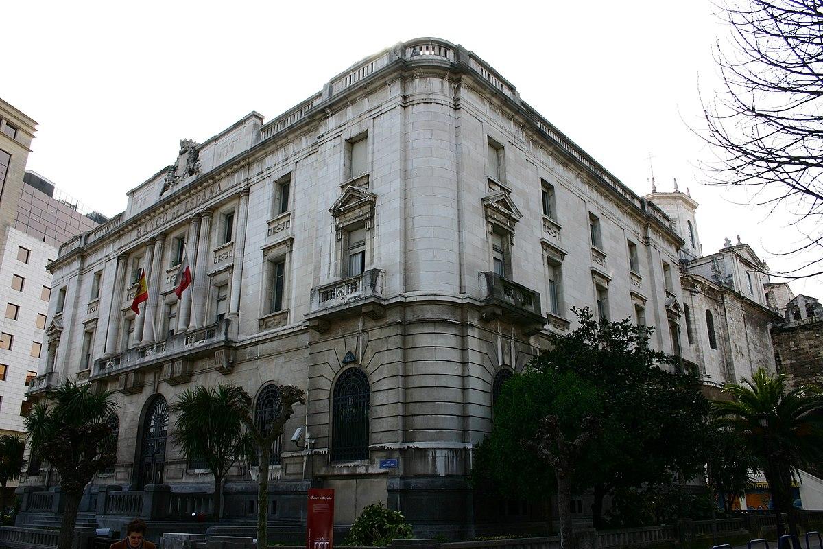 Edificio del banco de espa a santander wikipedia la for Horario oficinas banco santander barcelona