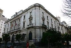 Edificio de la delegación del Banco de España en Santander (Cantabria).