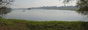 Santragachhi - Western side of the Santragachi Lake.