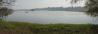 Santragachhi - Western side of the Santragachi Lake