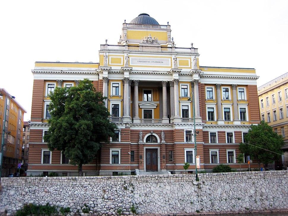 Sarajevo University building