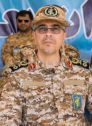 Mohammad Bagheri (Iranian commander) - Bagheri in Great Prophet 95 Wargame - April 2016