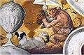Satiro cacciatore 1 con cane e fagiano (Stellaert Marten e Congnet Gillis, 1567, Palazzo Giocosi, Terni).jpg