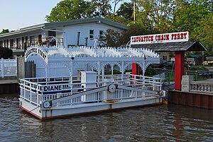 Saugatuck, Michigan - Saugatuck Chain Ferry
