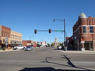 Sayre, Oklahoma - Buildings in Sayre, 2016