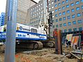 Scanning the excavation of a TTC elevator, median of University at Dundas, 2017 06 06 -g (34368079623).jpg