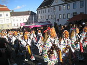 Schömberger Fuchswadel Narrentreffen Hechingen