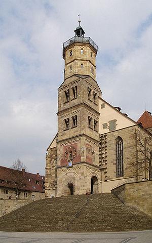 Schwäbisch Hall - St Michael's Church, Schwäbisch Hall